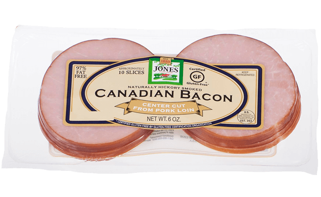 Canadian Bacon Slices 6oz
