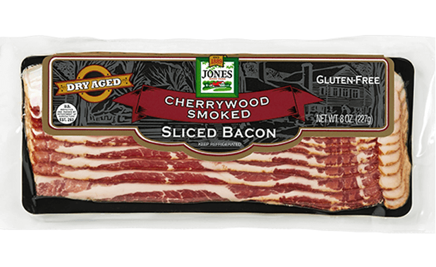 Dry Aged Bacon Sliced Cherry Hardwood Smoked 8oz