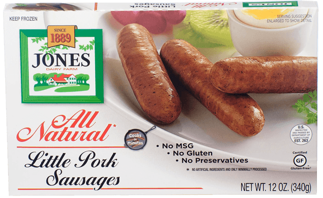 All Natural Pork Sausage Little Links 12oz