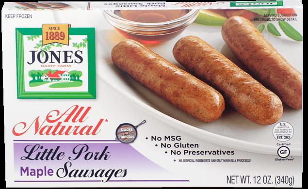 All Natural Pork Sausage Little Links Maple 12oz