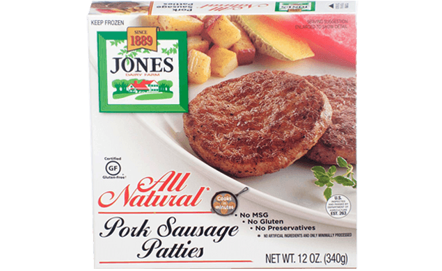 All Natural Pork Sausage Patties 12oz