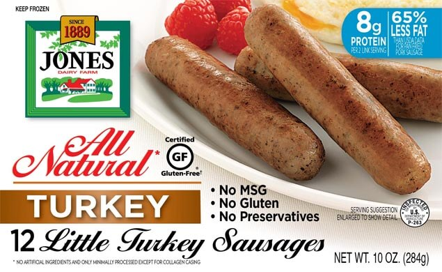 All Natural Turkey Sausage Little Links 10oz