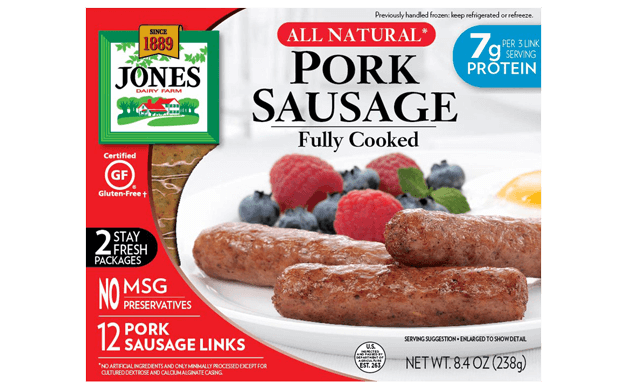Refrigerated All Natural Fully Cooked Sausage Links 8.4oz