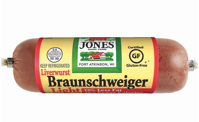 Braunschweiger Liverwurst Chub Light 8oz