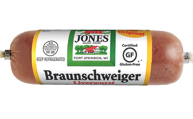 Braunschweiger Liverwurst Chub Regular 8oz
