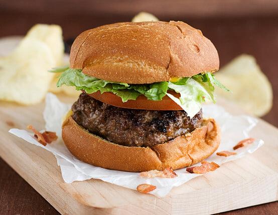 Bacon-Stuffed Cheeseburger Recipe