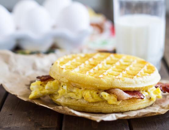 Bacon Waffle Panini Recipe