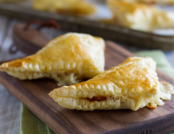 Canadian Bacon Pastry Pockets Recipe