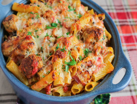 rigatoni turkey and bacon web