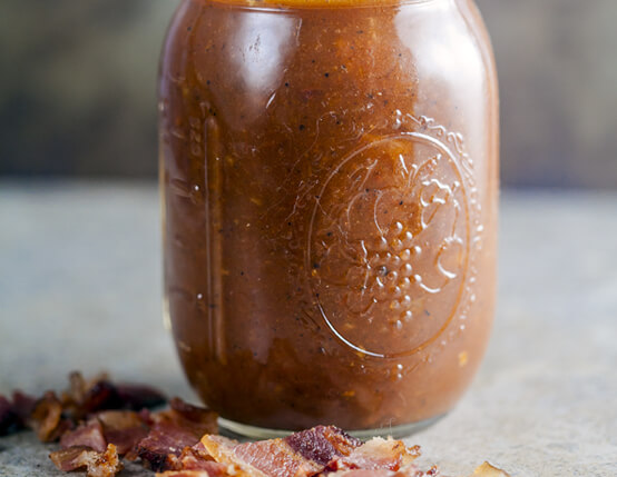 Smoked Tomato and Bacon Vinaigrette Recipe
