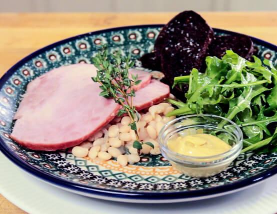Jones Dainty Ham and White Beans Recipe