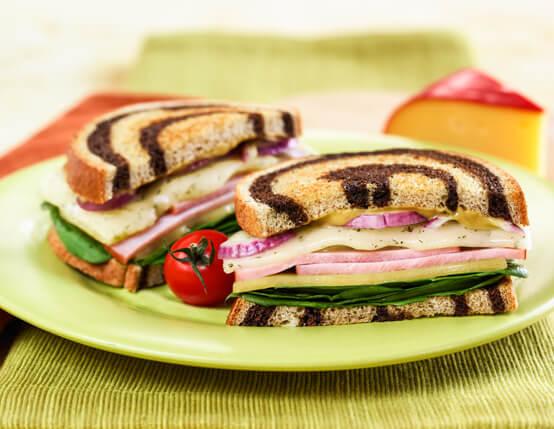 Jones Ham & Wisconsin Cheese with a Twist Recipe