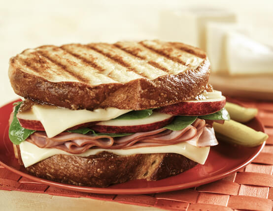 Sharp Sweet Jones Ham & Wisconsin Cheese Sandwich Recipe