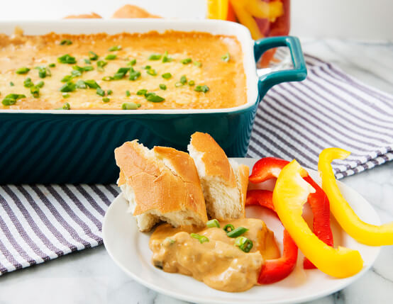 Cheesy Sausage Dip Recipe