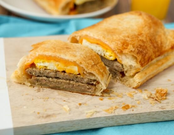 Chicken Sausage Breakfast Wellington Recipe