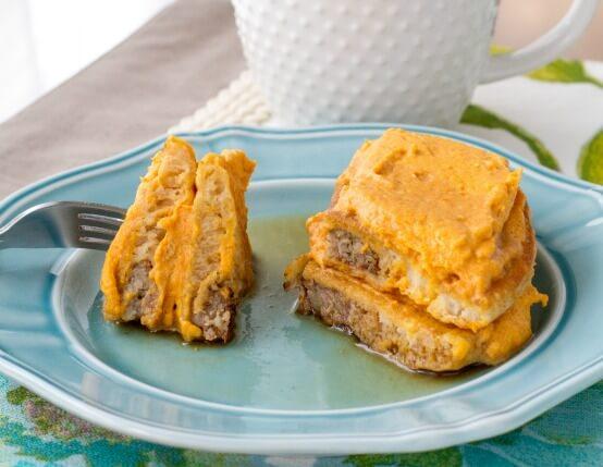 Savory Pumpkin Latte Pancakes Recipe