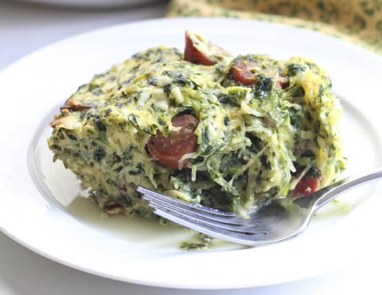 Spaghetti Squash Breakfast Casserole Recipe