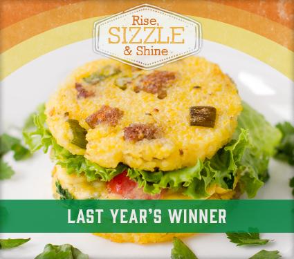 Rise Sizzle Shine Recipe Contest Winner