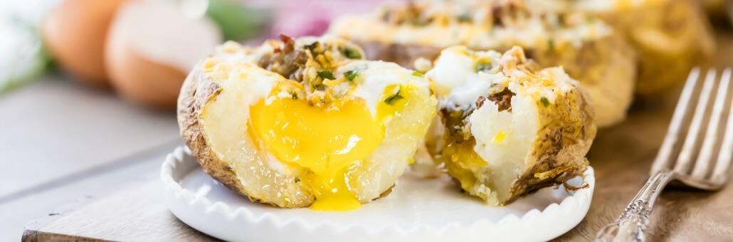 breakfast baked potatoes Recipe