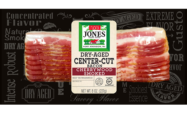 Dry Aged Cherrywood Smoked Bacon, Regular Slices (Full Case)