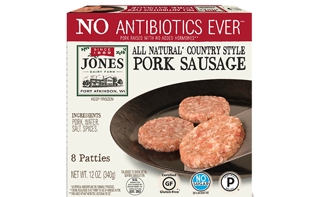 12 oz ABF Country Style Raw Pork Patty