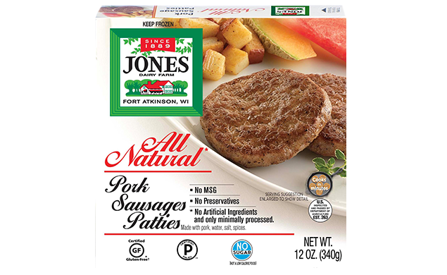 All Natural Pork Breakfast Sausage Patties (Full Case)