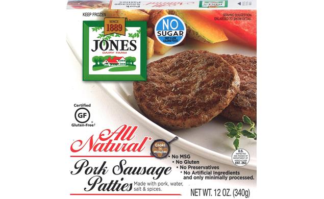 All Natural Pork Breakfast Sausage Patties (Full Case)