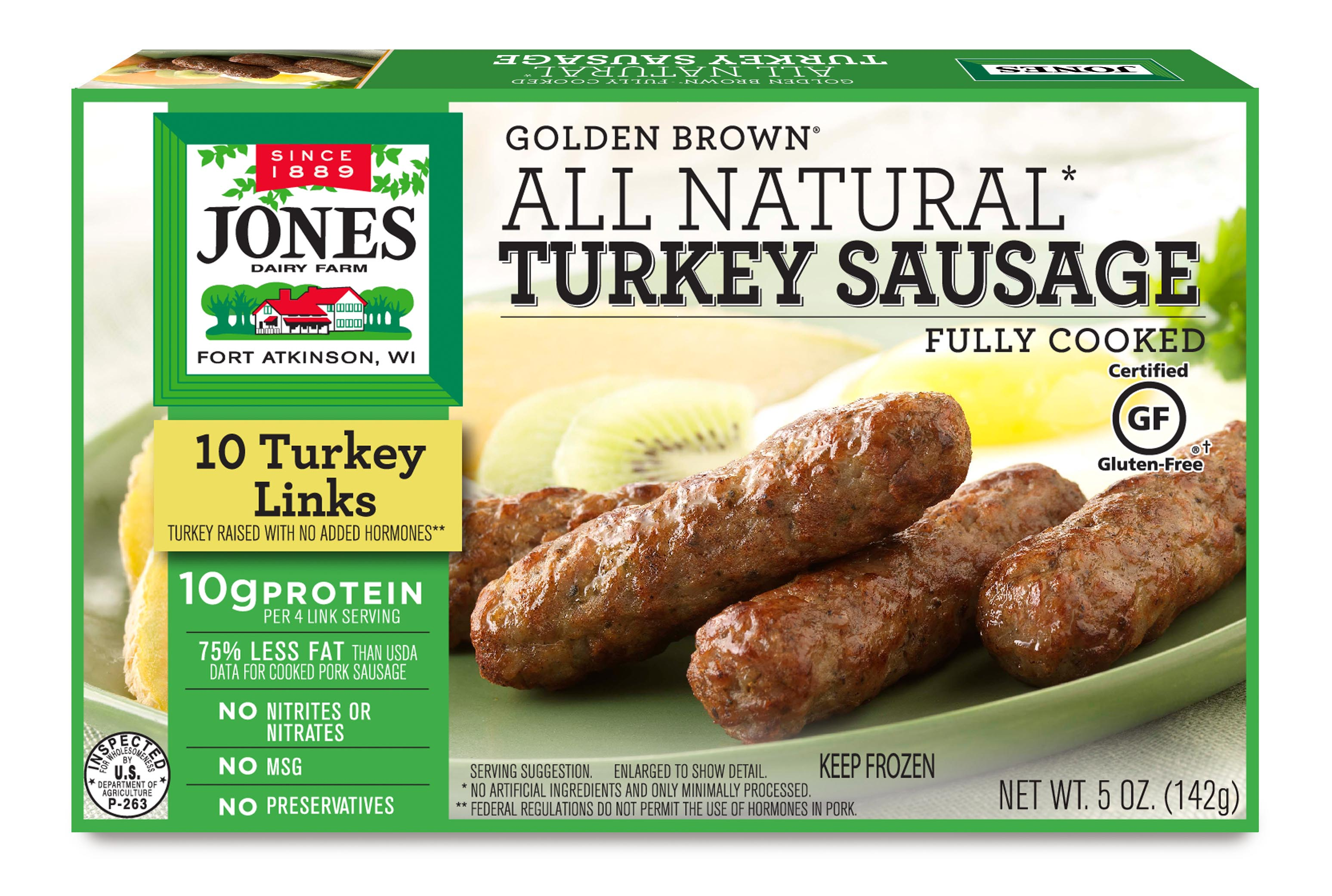 recipe: jones turkey sausage nutritional information [2]