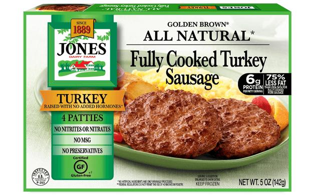 All Natural Golden Brown Turkey Sausage Patties 5oz
