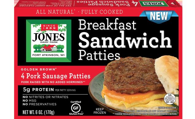 Sandwich Pork Patty 6 oz