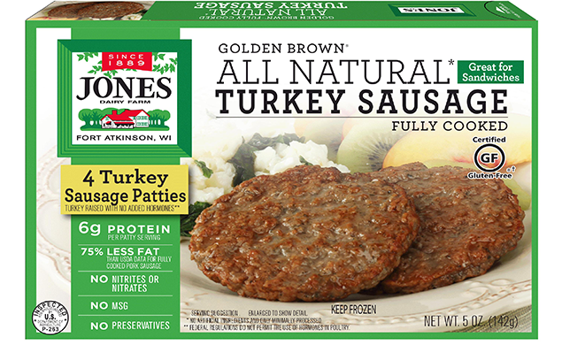 recipe: jones turkey sausage nutritional information [7]