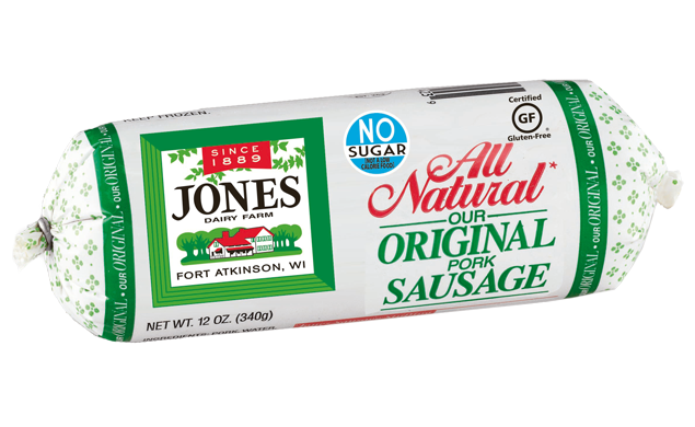 All Natural Pork Breakfast Sausage Roll (Full Case)