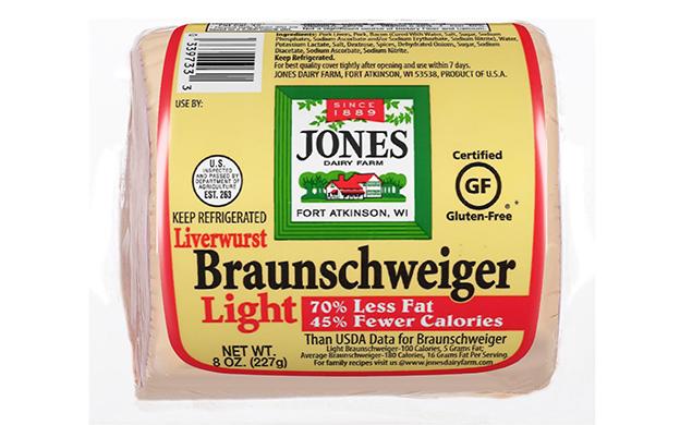 Braunschweiger Liverwurst Chunk Light 12oz