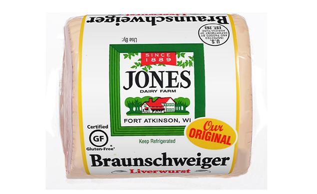 Braunschweiger Liverwurst Chunk Regular 12oz