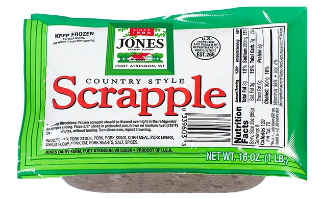 Scrapple 16oz