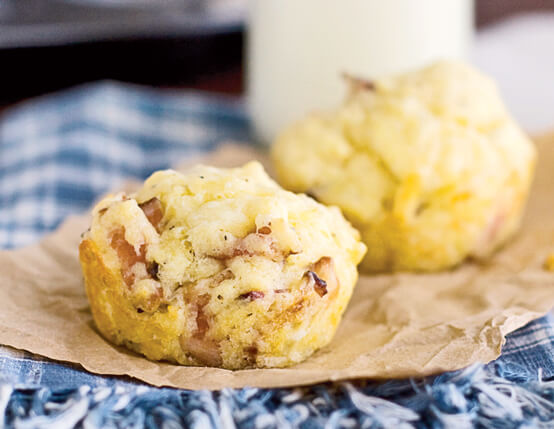 Bacon Breakfast Muffins Recipe