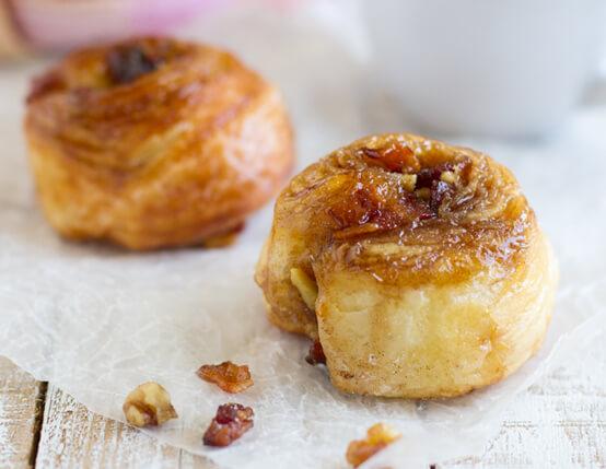 Bacon Honey Morning Buns Recipe