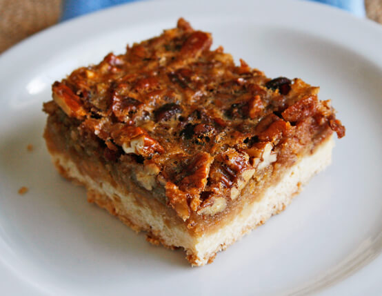 Bacon Pecan Bars Recipe