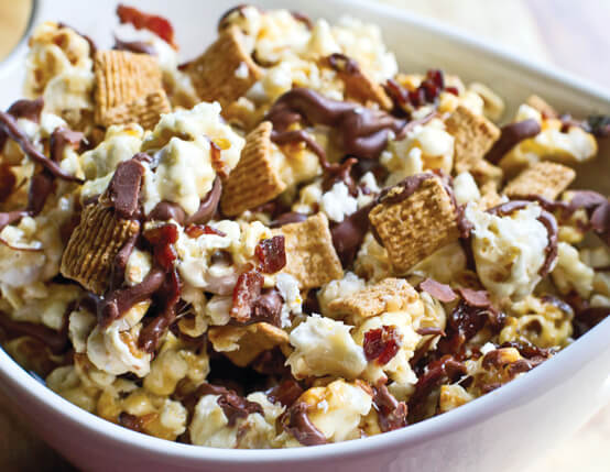 Bacon S'mores Popcorn Recipe