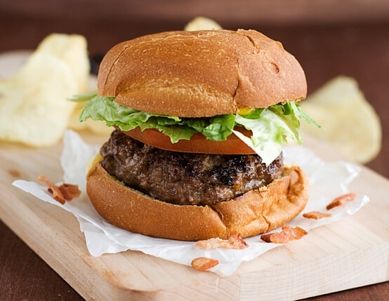 Bacon-Stuffed Cheeseburger Recipe