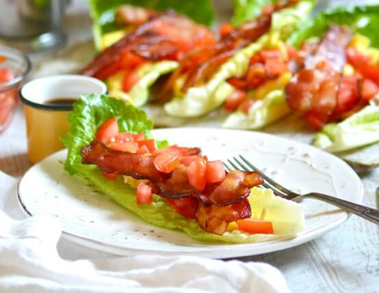 BLT Breakfast Wraps Recipe