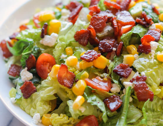 BLT Chopped Salad Recipe