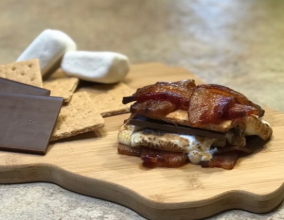 Bonfire Bacon S'mores