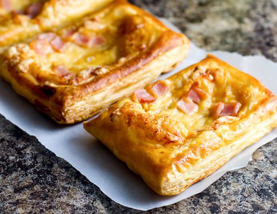 Canadian Bacon and Cheese Savory Tarts Recipe