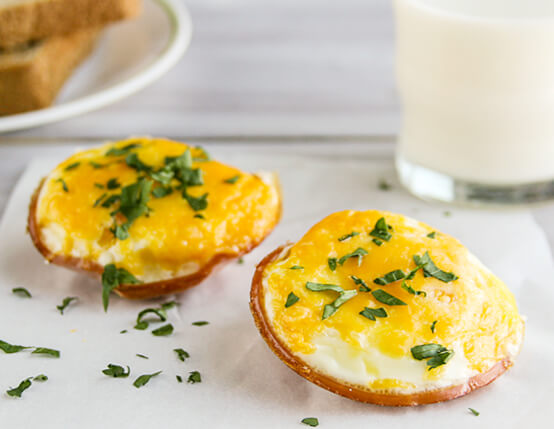 Canadian Bacon and Egg Cups Recipe