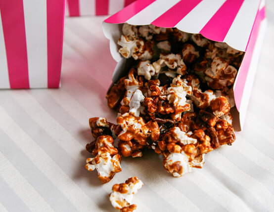 Caramel Bacon Popcorn Recipe