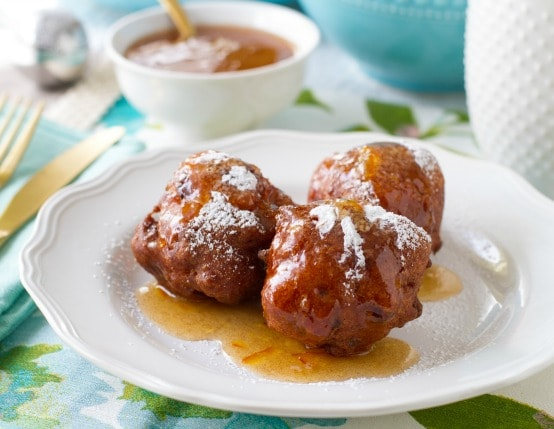 Double Bacon Biscuit Beignets