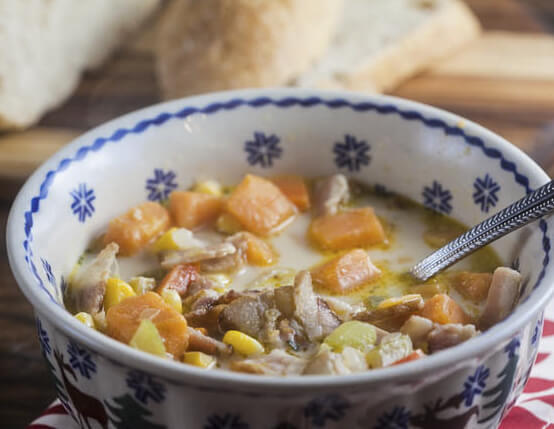 Jamaican Sweet Potato Chowder Recipe