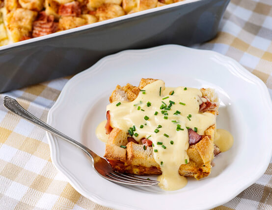 Make Ahead Eggs Benedict Casserole Recipe