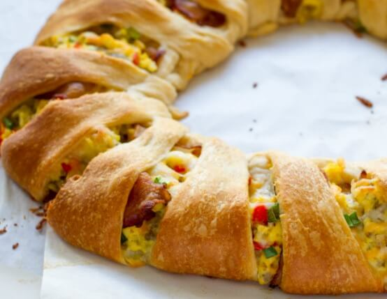 Savory Crescent Brunch Ring